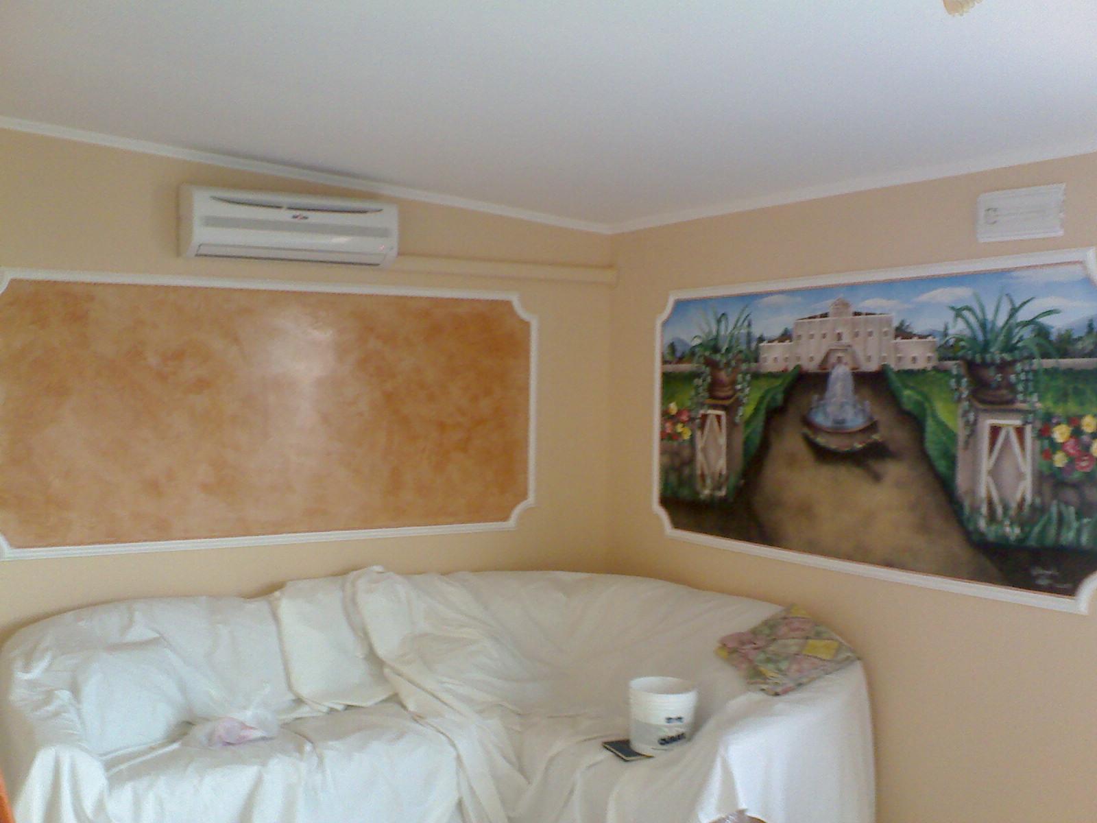 Pittura Stucco Veneziano Foto trompe l'oeil lugano ticino svizzera mendrisio aerografia